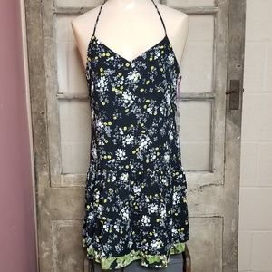 NWT Princess Vera Wang Hem dress small black green